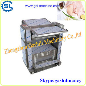 Professional technology pig skin peeling machine