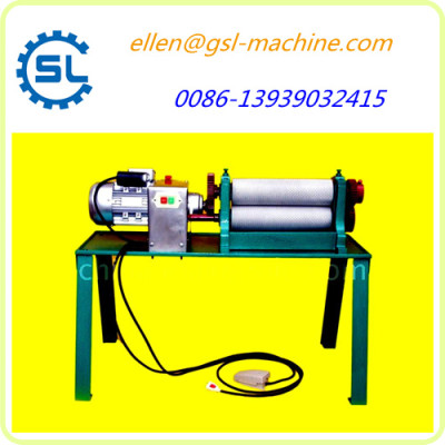 Factory price electric type beeswax foundation making machine