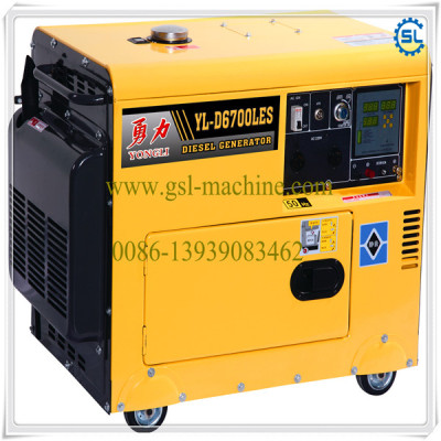 10KW small silent diesel generator