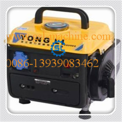Small silent gasoline generator