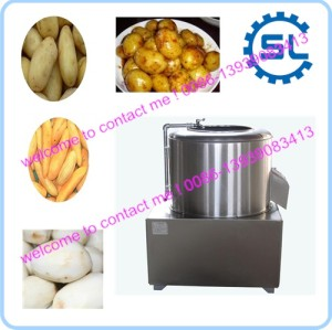high efficient potato washing peeling machine with competitive price