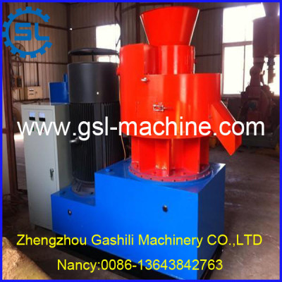 New Design Vertical Ring Die Wood Pellet Machine