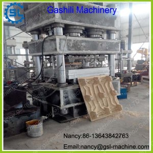 New designed wood tray hot press machine hydraulic wood pallet molding machine