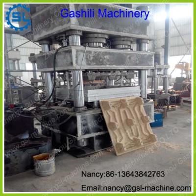 New designed wood tray hot press machine hydraulic wood pallet molding machine