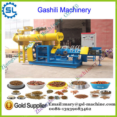 Good performance floating fish feed extruder