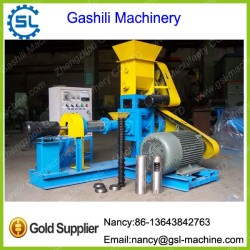 Dry trype fish feed pellet machine floating fish feed extruder machine