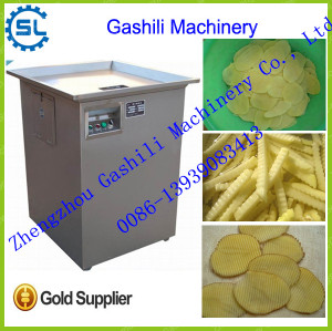 high quality stainless steel automatic potato chips cutting machine