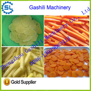 100-800kg/h stainless steel carrot cutting machine