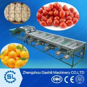 widely use round fruit sorting machine with high efficient