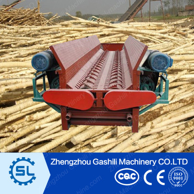 double roller wood peeling machine with competitive price