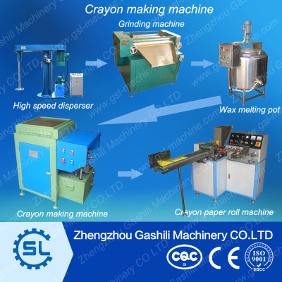 Plant price high efficiency crayon forming machine