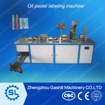 Good quality oil pastel labeling machine for sale