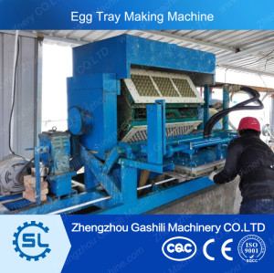 high performance 800-5500pcs/h semi and full automatic egg tray making machine