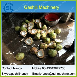 Coconut Half Cutting and Coconut Water/Juice Extracting Machine