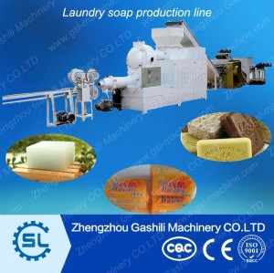 Indrustry price small capacity  laundry  bar soap  machine