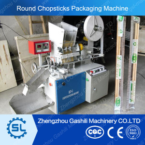 Automatic package machine for chopsticks disposable chopstick packaging machine