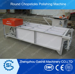 Wooden chopstick polishing machine