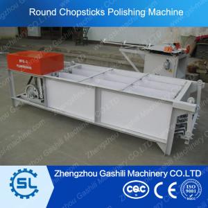 Wooden chopstick polishing machine