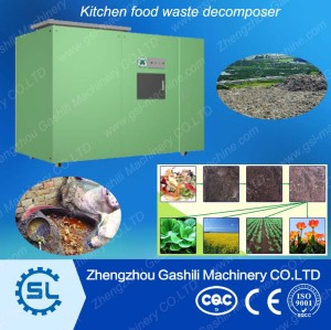 Good quality Food waste resources processing equipment /food waste decomposer