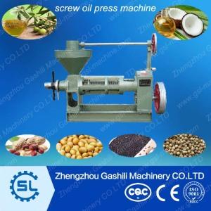 Hot sale Screw oil presser/oil press machine