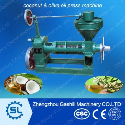 Screw type Coconut oil press machine for sale
