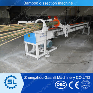 Automatic bamboo splitting machine
