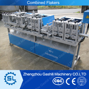 Automatic toothpick making machine Combined flakers