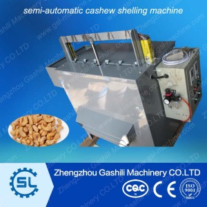 semi-automatic cashew shelling machine call 0086-13939083462