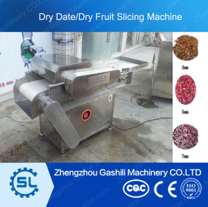 stable performance dry date/fruit slicing machine