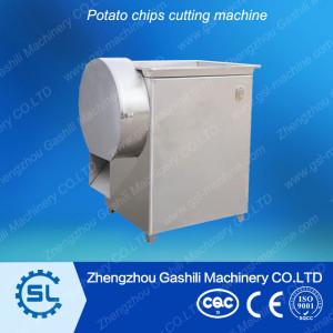 High efficiency durable potato chips cuting machine