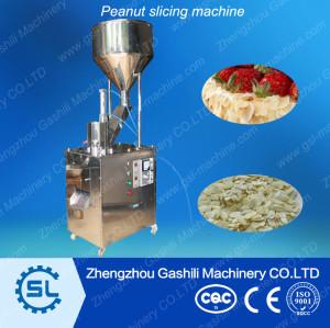 High efficiency peanut slicing machine/peanut slicer