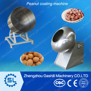Stainless steel Peanut sugar coating machine