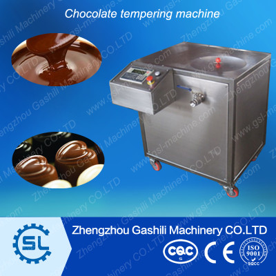 Pure chocolate tempering and making machine for sale 0086-13939083462