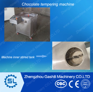 Factory selling chocolate tempering machine price 0086-13939083462