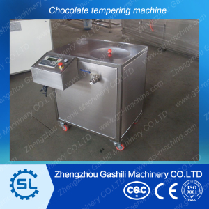 Factory selling small automatic chocolate tempering machine0086-13939083462