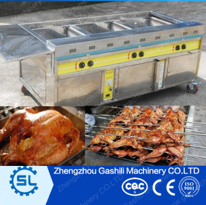 Competitive chicken grill machine prices chicken rock oven rotary rack oven