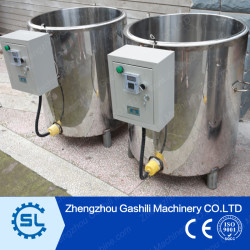 high performance stainless steel industrial wax melting tank