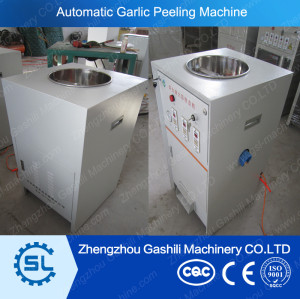 Small capacity 25-30KG/H garlic pelling machine in dry type