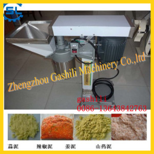 stainless steel 300-500kg/h garlic grinding machine ginger grinder 0086-13643842763