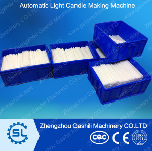 Automatic candle machine light candle making equipment