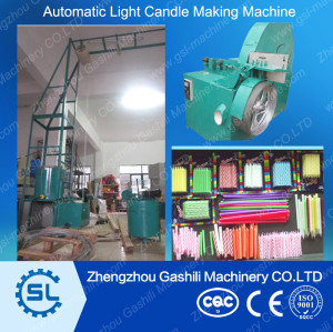 Automatic lighting candle birthday candle production line