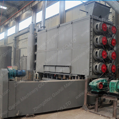 Carbonization Stove Continuous Coconut Shell Carbonization Furnace