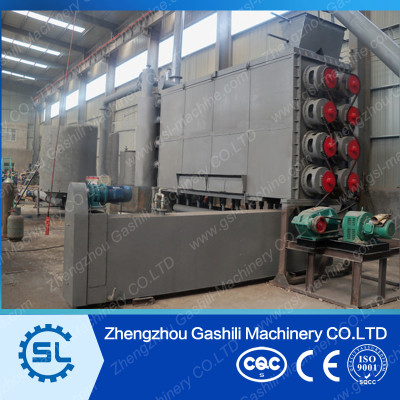 Hot sale continuous Carbonization machine for making charcoal