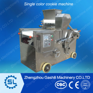 Single & Double colors cookie depositor machine with best price