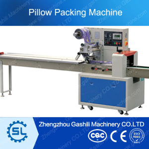Factory price rotary Pillow packing machine for sale