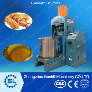 Plant price high efficency flaxseed Hydraulic oil press machine