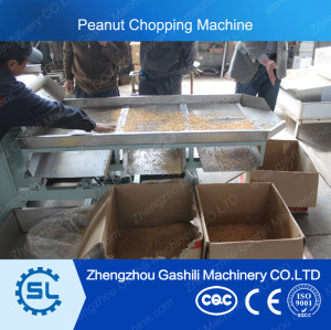 stable performance peanut chopping machine with reasonable price