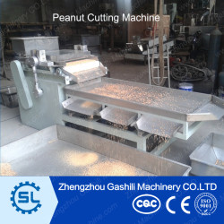 peanut cutting machine into particle shape