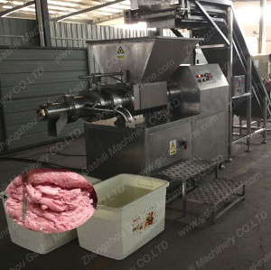 Large Capacity Poultry Machine for deboning chicken
