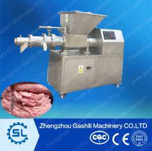 Chicken meat and bone separator